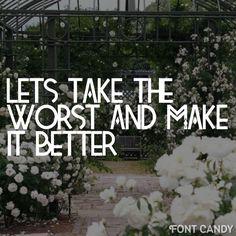 Cinderblock garden~ All Time Low