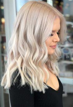Blonde Hair Colour Shades, Platinum Blonde Hair Color, Bright Blonde Hair, White Blonde Hair, Bleach Blonde Hair, Dyed Blonde Hair, Blonde Hair Looks, Blonde Hair With Highlights, Black Hair