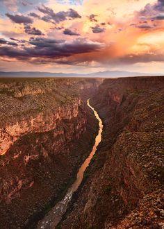 Rio Grande Gorge near Taos, New Mexico.   Adam Schallau Photography