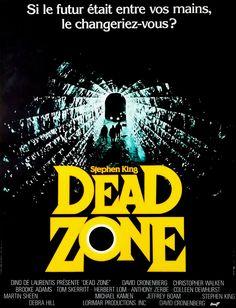 Réalisé par David Cronenberg (1983) Martin Sheen, Castle Rock, Dracula, Dead Zone, Debra Hill, La Tour Sombre, Colleen Dewhurst, Tom Skerritt, Brooke Adams