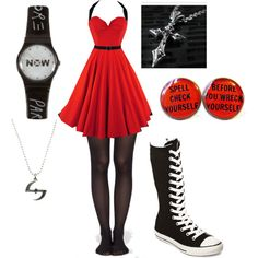 I would rather have normal high tops than these sneaker boots Cute Emo Outfits, Punk Outfits, Casual Outfits, Fashion Outfits, Gothic Fashion, Teen Fashion, Womens Fashion, Punk Fashion, Polyvore Outfits