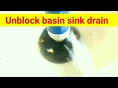 How to unblock basin drain This video is about cleaning and unblocking basin sink drainage system. Kitchen, bathroom sink completely clogged How to unblock b. Sink Drain, Basin Sink, Projects, Log Projects, Blue Prints
