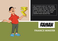 Comic Character Raman as a Finance Minister Indian Comics, Comic Character, Super Powers, Comic Art, Finance, Family Guy, Politics, Memes, Fictional Characters