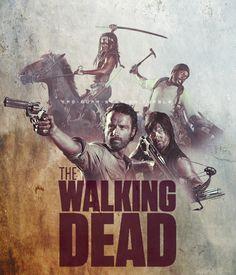 The Walking Dead season 4 poster. será?