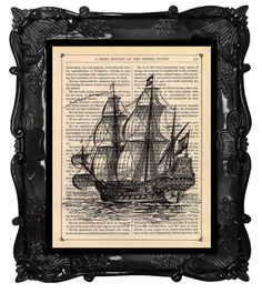 Hey, I found this really awesome Etsy listing at http://www.etsy.com/listing/62685338/old-ship-print-dictionary-print-antique