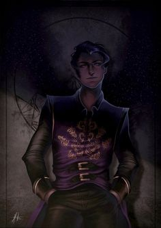 """Hello Feyre, darling…"" Rhys by JoPainter"