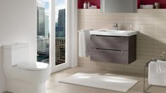 #Neat & #modern bathroom design with Subway 2.0 collection