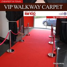 Other Services for sale, in Klang, Selangor, Malaysia. VIP Walkway Carpet At Budget Price For Your Event Décor Prestige red carpets and vip ropes are ou Home Depot Carpet, Cheap Carpet Runners, Free Classified Ads, Red Carpet Event, How To Clean Carpet, Walkway, Event Decor, Vip
