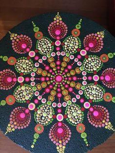 Mandala paver stone