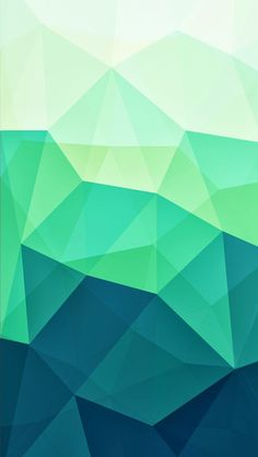 Turquoise Polygons iPhone 5C / 5S wallpaper