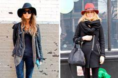 Sombrero negro y rojo, lo que se viene. #StreetHair