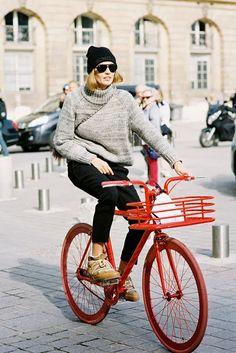 Numa Bicicleta... Paris