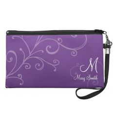 $$$ This is great for          Stylish Swirl Custom Monogram Purple Wristlet Clutch           Stylish Swirl Custom Monogram Purple Wristlet Clutch today price drop and special promotion. Get The best buyDeals          Stylish Swirl Custom Monogram Purple Wristlet Clutch Review on the This w...Cleck Hot Deals >>> http://www.zazzle.com/stylish_swirl_custom_monogram_purple_bag-223958574582367418?rf=238627982471231924&zbar=1&tc=terrest