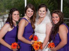 Bridal party pictured at Kirkland Chapel. #LoughridgeWeddings #Wedding
