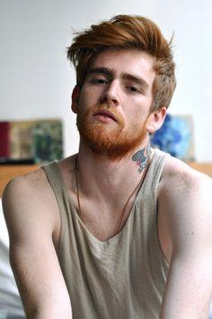 Redhead asshole hairy