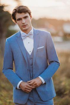Allure Bridals C Allure Bridals Cornflower Tux Win A Wedding, Wedding Rehearsal, Wedding Men, Wedding Suits, Wedding Attire, Dream Wedding, Azul Pantone, Wedding Colors, Wedding Styles