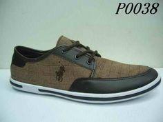 Polo Ralph Lauren Mens Damier Casual Shoes