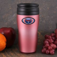 Atlanta Hawks 16oz. Soft Touch Travel Tumbler with Lid - Pink - $9.99