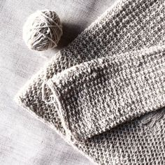 I-cord Bind Off In The Round. Sleeve.