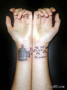 Wrist Tattoo # 144