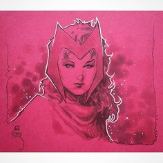 Scarlet Witch (2015) by Jim Cheung
