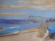 Pierre-Yves SAUTY                        Lac de Joux, plage aux Bioux Oeuvre D'art, Les Oeuvres, Painting, The Beach, Contemporary, Stone, Artist, Photography, Paint