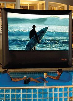 The ultimate outdoor entertainment.