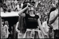 Testament of Youth: Rolling Stones Fans by Joseph Szabo Black White Photos, Black And White Photography, Long Island, Joseph, Rolling Stones Concert, Sugarhigh Lovestoned, Music Festival Fashion, Vans Shop, Portraits