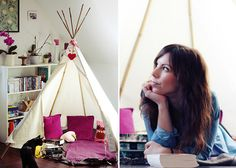 tipi aus bettlaken und st cken upcyclingapril2013 pinterest gartenzelt indianerzelt und. Black Bedroom Furniture Sets. Home Design Ideas