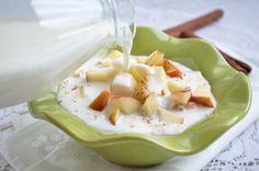 #Müsli mit Apfel-Zimt ist ein herrliches Frühstück. Ein Rezept, dass Kraft für den bevorstehenden Tag gibt.