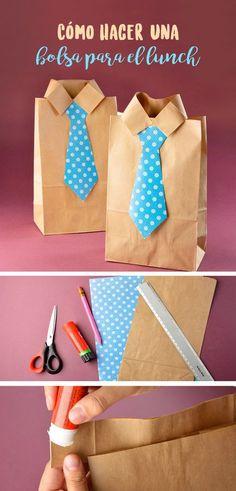 Este día del padre sorprende a papá con esta original bolsa para lunch, haz que empiece su día con una gran sonrisa.