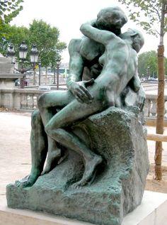Auguste Rodin : Le Baiser, Jardin des Tuileries