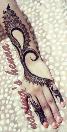 Love it Henna Mehndi Tattoo, Mehndi Art, Henna Mehndi, Henna Art, Hand Henna, Henna Hands, Beautiful Arabic Mehndi Designs, Unique Mehndi Designs, Latest Mehndi Designs