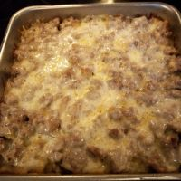 Bratwurst On Shredded Potatoes Recipe