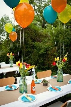 cute party table by DewiJ