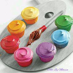 .cupcake colors. t