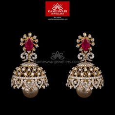 Trendy Radiant Jhumkis ###We ship across #India and #USA Call/Whatsapp us on +91-7799217999