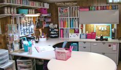 Jen's Ink Spot: My Craft Room