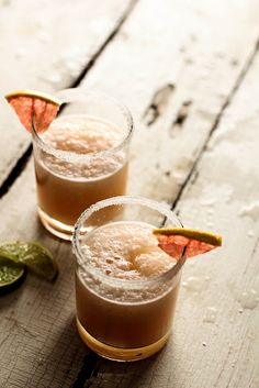 Grapefruit Margaritas by pastryaffair, via Flickr