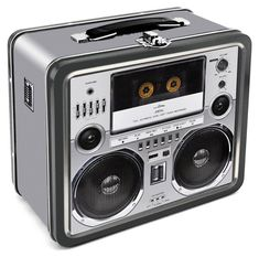 Boombox Lunchbox Lunch Box