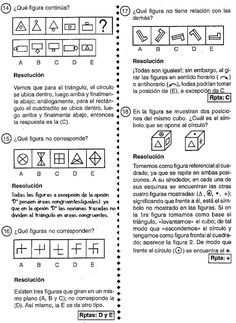 Razonamiento Abstracto Ejercicios Resueltos « Blog del Profe Alex Escape Room, Teaching Math, Imvu, Mindfulness, Math Equations, This Or That Questions, Education, Instagram, Ideas Para