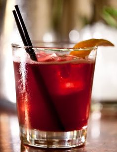 Enchantress (port, cognac, orange Curaçao, lemon juice). Photo: Tony Cenicola/The New York Times
