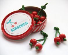 Adventskalender füllen Obst basteln Kirschen. www.limmaland.com