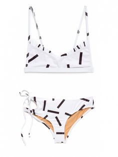 Made by Dawn Faith Bikini Top and Faith Bikini Bottom