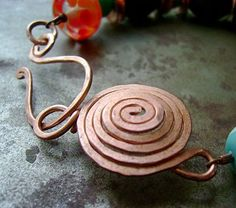 Sun Clasp - #wire #tutorial #clasp  also note links at end of post.