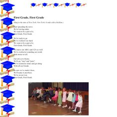 Kindergarten graduation song