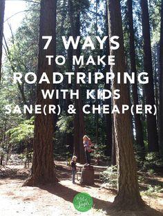 How we make family roadtripping sane(r) & cheap(er) | The Art of Simple