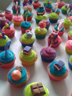 Willy Wonka Cupcakes