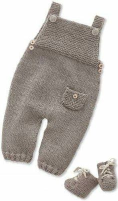 Overalls and ankle boots for children, knitting needles . : Jumpsuit and boots for children, knitting needles …, For Children Stiefeletten Stricknadeln and ankle boots children Knitting Needles Overalls Baby Boy Knitting, Knitting For Kids, Baby Knitting Patterns, Baby Patterns, Free Knitting, Knitting Needles, Crochet Patterns, Crochet Baby Pants, Knitted Baby Clothes