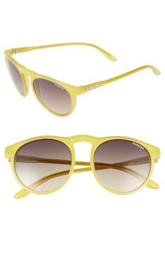 Yellow sunnies? Can't get any sunnier than that.